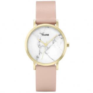CLUSE CL40101 La Roche Petite Gold White Marble/Nude Uhr Damen Beige