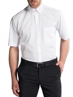 Eterna Herren Hemd Kurzarm Comfort Fit 3215/00/K144 Weiß M/40 - Vorschau 2