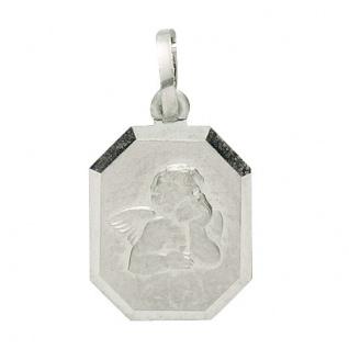 Basic Silber 22.229 Kinder Anhänger Schutzengel Silber - Vorschau 1