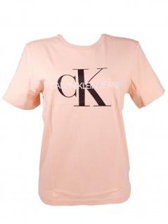 Calvin Klein Mädchen T-Shirt Kurzarm Monogram
