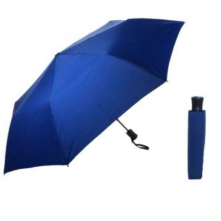 Flash MINI AC Flash solid Royalblau Regenschirm Taschenschirm
