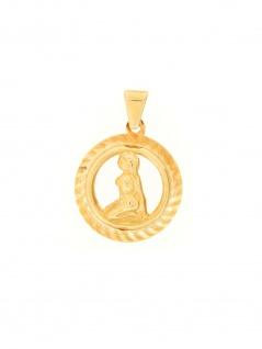 Gerry Eder 24.9021JU Anhänger Jungfrau 14 Karat (585) Gelbgold Gold