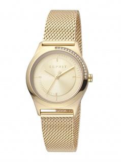 Esprit ES1L116M0075 Hood Uhr Damenuhr Edelstahl Gold