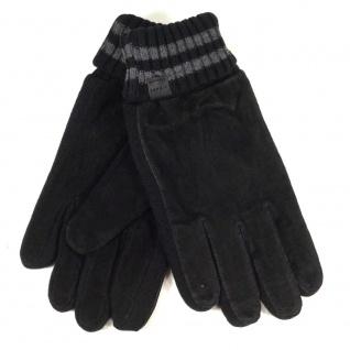 Esprit Suede Knit Glove Schwarz Handschuhe Fingerhandschuhe Gr. 9, 5 - Vorschau 2