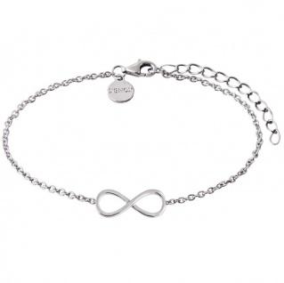 XENOX XS2764 Damen Armband Unendlich Symbolic Power Silber 20 cm