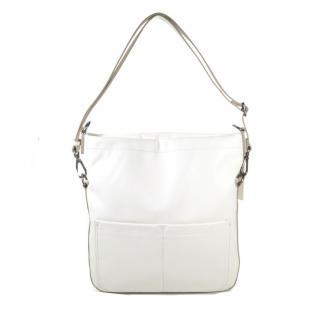 Esprit Deirdre Flap Shoulder Bag Weiß Handtasche Tasche Schultertasche