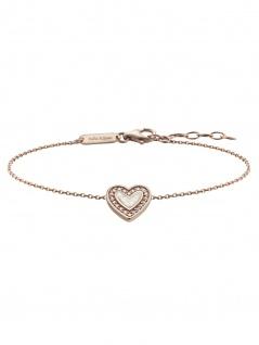 Julie Julsen JJBR0322.2 Damen Armband Herz Sterling-Silber 925 19 cm
