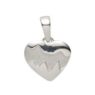 Basic Silber 21.1144S Damen Anhänger Herz Silber