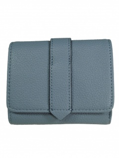Esprit Damen Geldbörse Portemonnaies Faith city wallet Blau