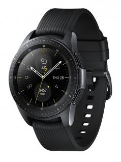 SAMSUNG SM-R810NZKAATO Galaxy Black Uhr Unisex Kautschuk Datum Schwarz