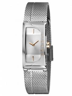 Esprit ES1L015M0015 Houston Lux Silver Uhr Damenuhr Edelstahl Silber