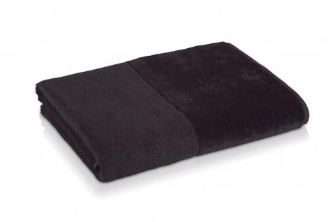 Möve Bamboo Luxe Waschhandschuh 15x20 cm black