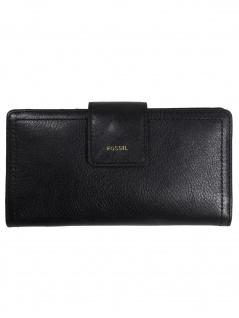 Fossil Damen Geldbörse Portemonnaies RFID Logan Tab Schwarz SL7830-001