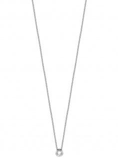 Esprit ESNL00791142 Damen Collier Spark Silber weiß 45 cm