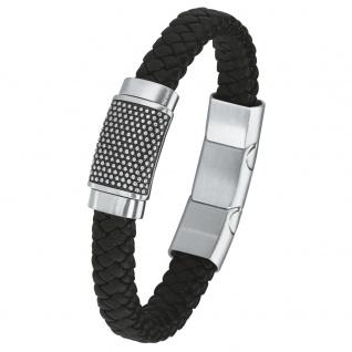 s.Oliver 2015054 Herren Armband Edelstahl Silber 21, 5 cm
