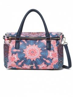 Desigual Damen Handtasche Tasche Afro Loverty Rosa
