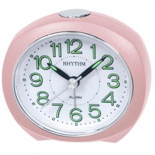 RHYTHM CRE865NR13 Wecker Uhr Alarm Weiss