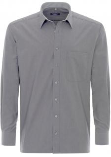 Eterna Herrenhemd Langarm Comfort Fit Grau XL/43 Hemd 8500/32/E148