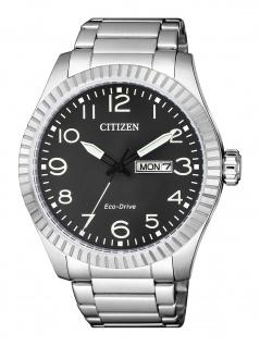 Citizen BM8530-89E Uhr Herrenuhr Edelstahl Datum Silber
