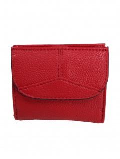 Esprit Damen Geldbörse Geldbeutel Portemonnaies Colby S wallet Rot