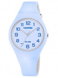 Calypso K5777/2 Uhr Mädchen Kinderuhr Kunststoff blau