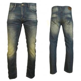 M.O.D Herren Jeans Hose Cornell Slim Crystal blue Blau Gr. 30W / 32L - Vorschau 3