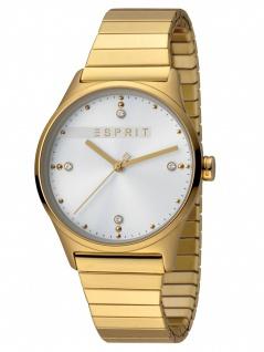 Esprit ES1L032E0115 VinRose Silver Gold Matt Damenuhr Edelstahl Gold