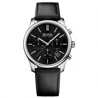 Hugo Boss 1513430 Time One Chronograph Uhr Herrenuhr Datum Schwarz