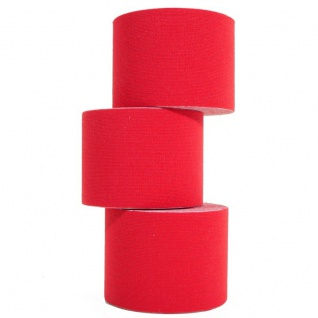 3 Rollen Kinesiologie-Tape 5 m x 5, 0 cm rot (EUR 0, 833 / m)