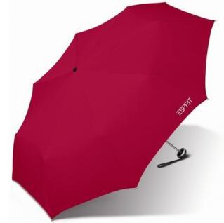 Esprit Taschenschirm Mini Alu Light 50202 Regenschirm Rot