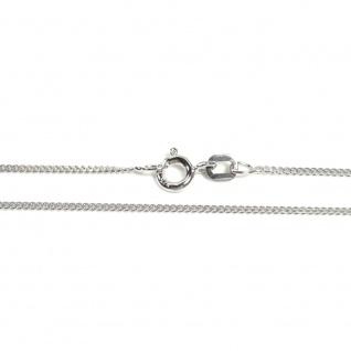Basic Silber PF01.20.38R Kette Baby Panzer Halskette Silber 38 cm