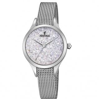 Festina F20336/1 Uhr Damenuhr Edelstahl Silber