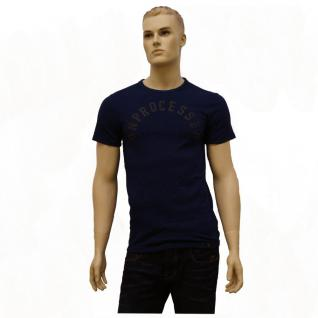 G-Star Herren T-Shirt 843125865-857 Deffure 3 Regular T-Shirt Blau M