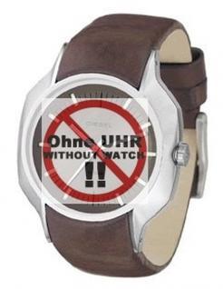 Diesel Uhrband für LB-DZ4041 und LB-DZ4038 Original Lederband
