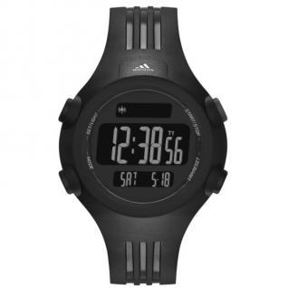 Adidas ADP6086 QUESTRA Uhr Herrenuhr Kunststoff Datum Alarm schwarz