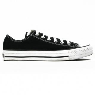 Converse Herren Sneakers All Star Ox Schwarz M9166C Größe 43