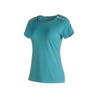 Mammut Damen Kurzarm Trovat Tour T-Shirt Women Blau Funktion Shirt L