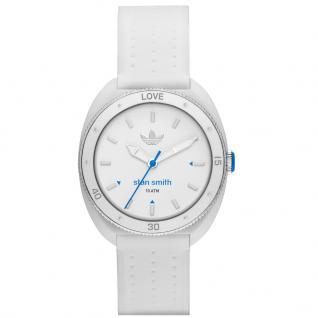 Adidas ADH3123 STAN SMITH Uhr Damenuhr Kautschuk weiß