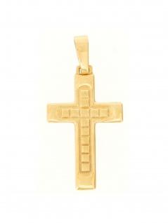 Gerry Eder 27.9106 Anhänger Kreuz 14 Karat (585) Gelbgold Gold