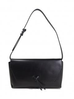 Esprit Damen Handtasche Tasche Clutch Camino Baguette Schwarz
