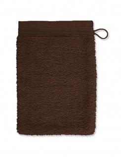 Möve Superwuschel Waschhandschuh 15x20 cm java brown
