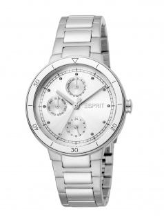 Esprit ES1L226M0015 Yumi Uhr Damenuhr Edelstahl Datum silber