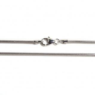 Basic Silber SC01.60.50R Kette Schlangen Unisex Halskette Silber 50 cm