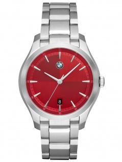 BMW BMW6001 Uhr Herrenuhr Edelstahl Datum silber