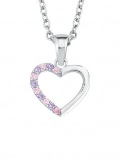 Prinzessin Lillifee 2021107 Mädchen Collier Herz Silber Rosa 38 cm