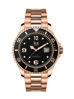 Ice-Watch 016763 ICE steel Rose-gold Medium Uhr Damenuhr Datum Rose