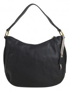 Esprit Damen Handtasche Tasche Henkeltasche Kiki Hobo Bag Schwarz