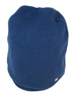 Esprit Damen Hüte Mütze Beanie Cotton Beanie OneSize Blau