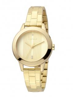 Esprit ES1L105M0285 Tact Uhr Damenuhr Edelstahl Gold