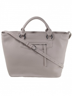 Esprit Damen Handtasche Tasche Henkeltasche Kerry Shopper Grau